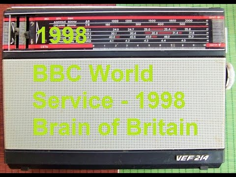 BBC World Service 1998 Brain of Britain 1/3