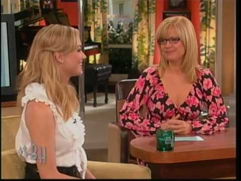 Yvonne Strahovski on the Bonnie Hunt Show (02.09.09)