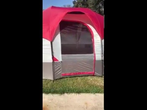 Wenzel tent review & Wenzel tent review - YouTube