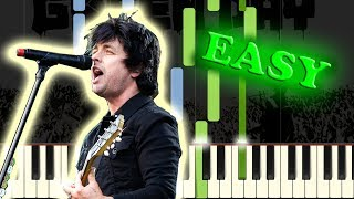 GREEN DAY - GOOD RIDDANCE (TIME OF YOUR LIFE) - Easy Piano Tutorial