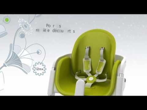 Presentation De La Chaise Haute Bebe I Sit Chicco