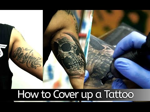 How to  Cover Up  a Tattoo | Tattoo Tutorial - part - 14