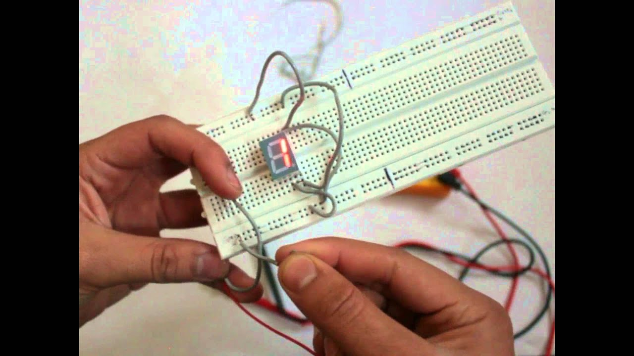 How To Display Numbers On Bcd 7 Segment Without Using A Decoder The Each Led Symbol Into 7segment It May Look Like This