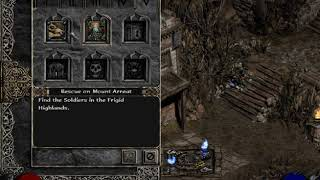Diablo 2 - Fast XP in SP from 25-40