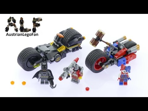 Lego Super Heroes 76053 Batman™ Gotham City Cycle Chase - Lego Speed Build Review