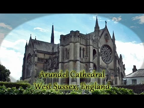 England Tourist Arundel Cathedral Sussex