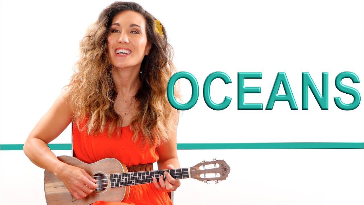 Oceans - Hillsong Ukulele Fingerpicking Tutorial and Play Along