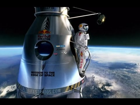 Felix Baumgartner Sets World Record Skydive