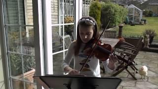 Meghan Plays Violin Fiddlers Fancy Grade 1 piece