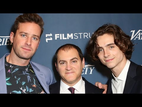 Armie Hammer and Timothée Chalamet on playing their gay relationship in 'Call Me By Your Name'