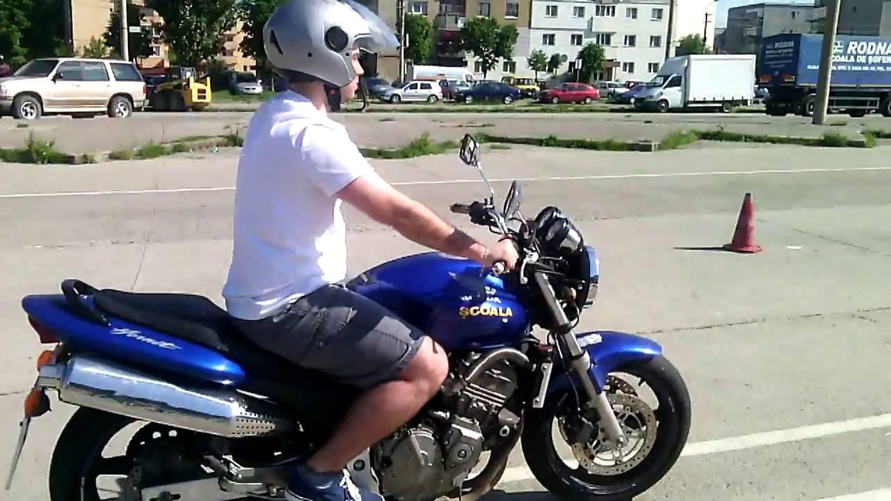 Honda Hornet - Toni Auto - Scoala de soferi -  Pregatire Motocicleta Cluj Napoca