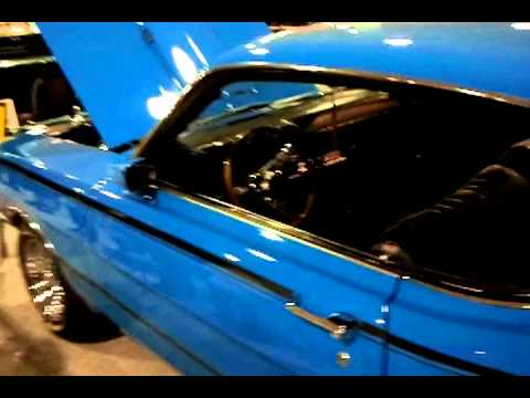 2013 Cleveland Auto Show  looking at classic cars
