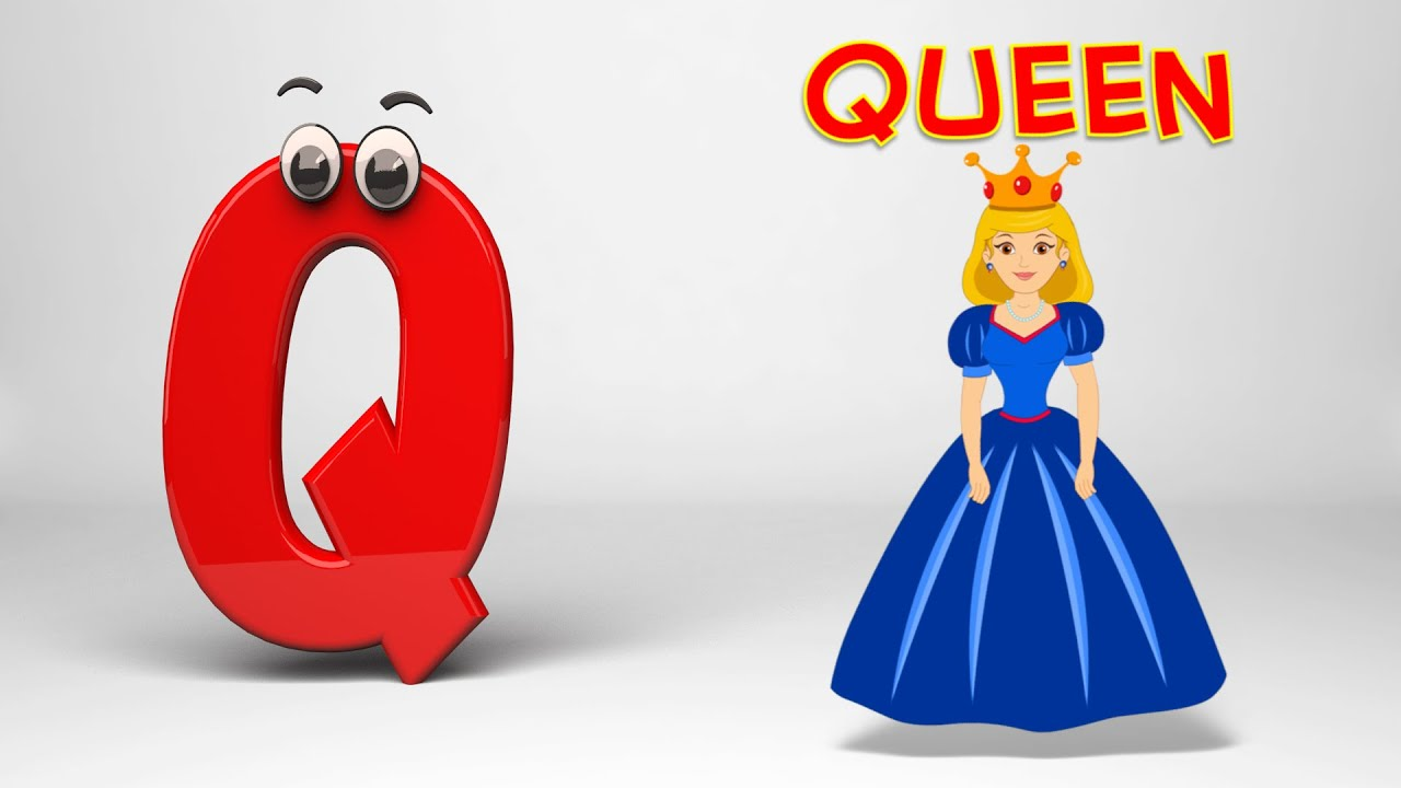 Abc Song Phonics Letter Q Youtube