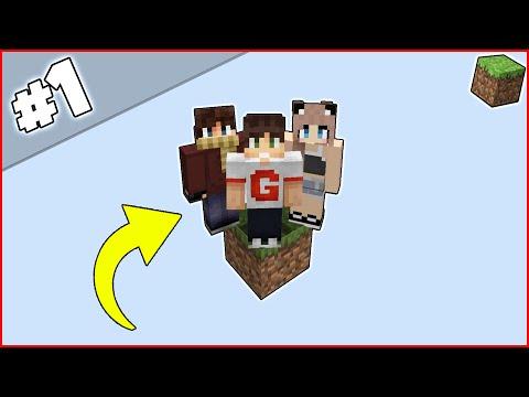 ВЫЖИВАНИЕ НА 1 БЛОКЕ #1 / НАЧАЛО - (мир из одного рандомного блока в Minecraft)