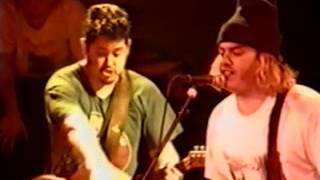 NOFX playing live in Milan, Italy at The Factory on 02/27/1995.