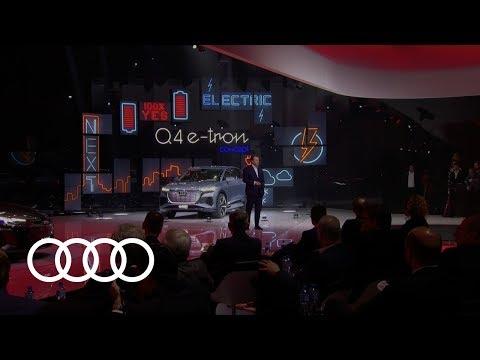 Livestream of the Audi Press Conference at the 2019 Geneva International Motor Show