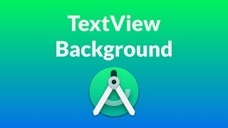 Android Studio Design - TextView  background transparency