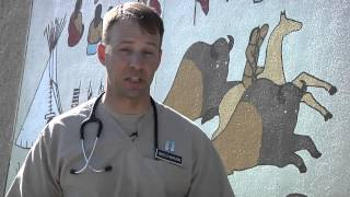 Army Humanitarian Support to Cheyenne River Indian Reservation, S.D.