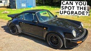 Rear Spoiler Swap Tea Tray Gone! - Porsche 911 930 Turbo Project