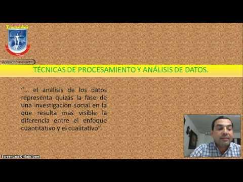Procesamiento y análisis de la información. Dra. Ruth Salinasиз YouTube · Длительность: 12 мин22 с