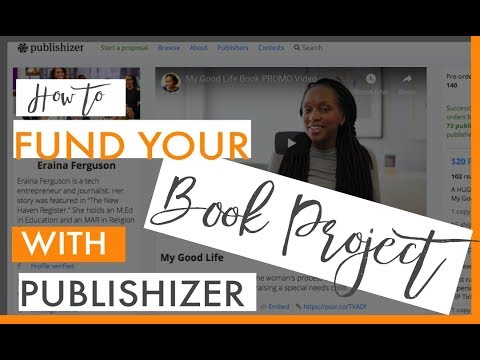 How to Fund Your Book Publishing with Publishizer