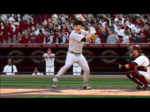 MLBShow15 S01G01 Reds vs Pirates OPENING DAY - Full Game