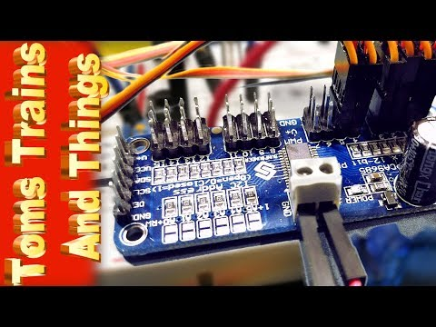 Repeat Turnout Control With Arduino And Servos Using A