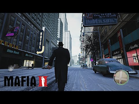 MAFIA II Remastered 2020 Old Time Reality Graphics Mod | New Lighting + Weather & Textures Gamep