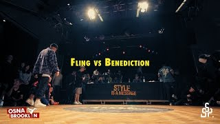 Fling vs Benediction | 1vs1 Quarterfinal | Style is a Message 2015