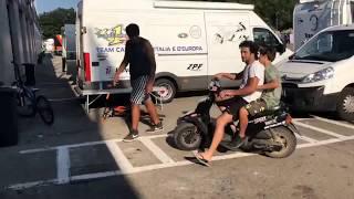 Bence moto 25   Varano 2  verseny 2  race 2018