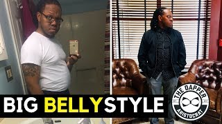 How Men Should Dress with a Big Belly | Big Belly Style for Men