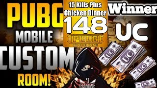 PUBG MOBILE LIVE | 148 UC GIVEAWAYS TO WINNER  | CUSTOM ROOM FREE UC UNLIMITED | 1GAMING IS LIVE