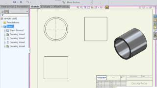 How to setup your SolidWorks Drawing Template