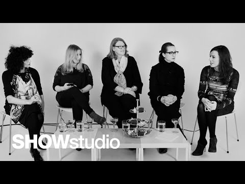 SHOWstudio: Jonathan Saunders - Womenswear Autumn/Winter 2013 Panel Discussion