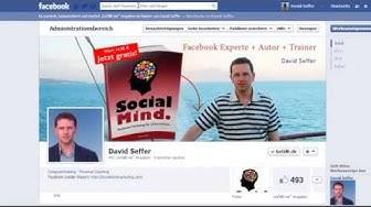 Facebook Fanpage Seite in 5 Minuten (kostenlos mit Facebook App)