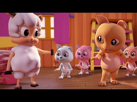 Drei kleine Kätzchen   Kinderrreim   Song For Kids   Nursery Rhyme   Three Little Kittens