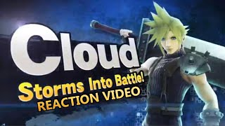 CLOUD IS IN SMASH 4 REACTION VIDEO MY DIIIICCCKK