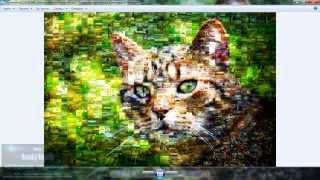 Программа  Artensoft Photo Mosaic Wizard