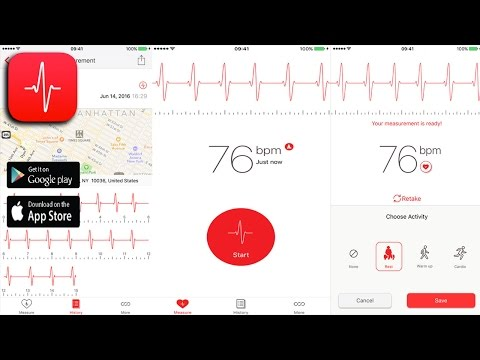 Cardiograph - Measure Your Heart Rate On IPhone And IPad - Health & Fitness Application