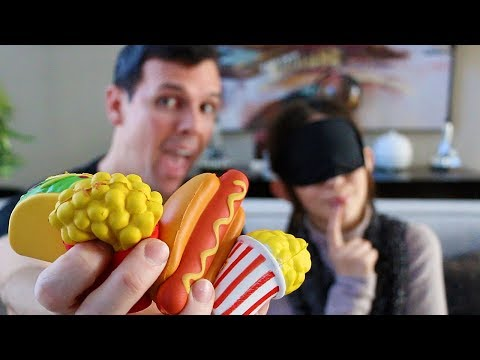 GUESS THE SQUISHY FOOD CHALLENGE!!