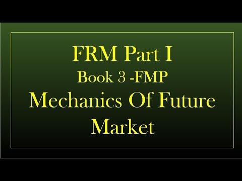Mechanics of Futures Market : Part 1 (FRM Part1)
