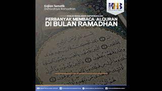 [KHB VIDGRAM] Perbanyak Membaca Al-Qur'an di Bulan Ramadhan - Ustadz Khalid Basalamah