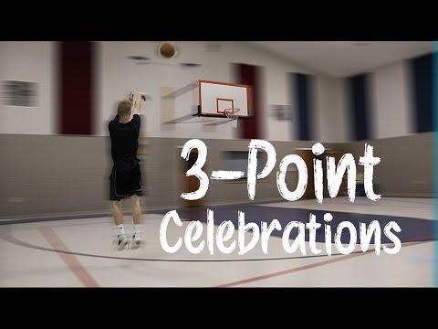3-POINT BASKETBALL CELEBRATIONS