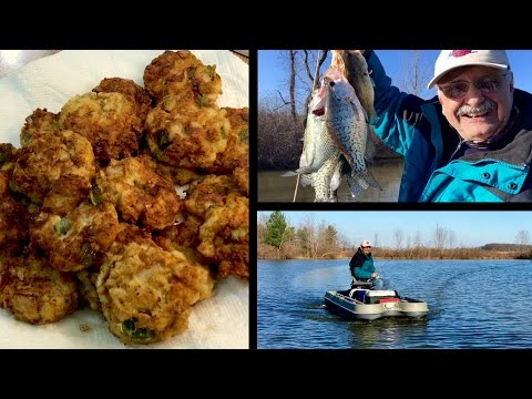 Low-Carb Fish Cakes A New Way (with The Usual Horseplay)