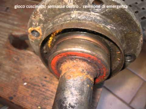 Pajero V6 3 0 Cuscinetto Semiasse Dx Youtube