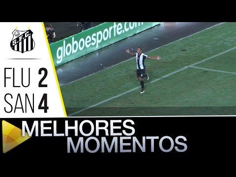 Fluminense 2 x 4 Santos | MELHORES MOMENTOS | Brasileirão (22/06/16)