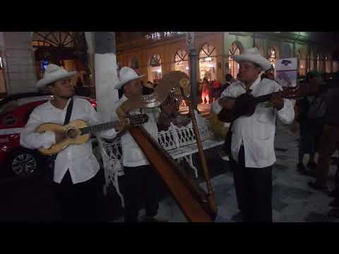Son Jarocho street musicians in Veracruz