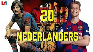 Nederlanders Bij FC Barcelona: Van Johan Cruijff tot Frenkie de Jong!