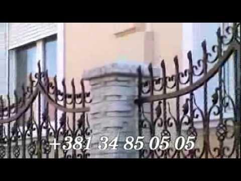 Betonski stubovi, stubovi za ograde  /  www.betonea.com