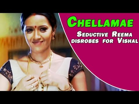 Chellamae Tamil Movie Love Scenes | Reema Sen & Vishal play chess | Bharath | Vivek